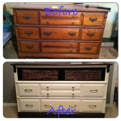 Ideas For Refinishing An Dresser by Refinished Dresser Neat Idea In Style Refinish Idea