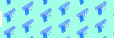 themes ltd real blue handguns blue large water pistols twitter header random wallpapers