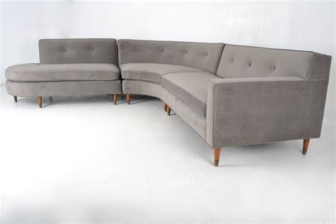 sectional form boomerang form sectional sofa usa circa 1950s at 1stdibs