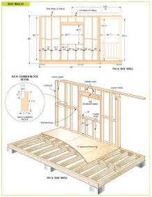 Cabin Blueprints Free Wood Cabin Plans Free Step By Step Shed Plans