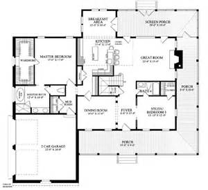 Country Farmhouse Floor Plans House Plan 86144 At Familyhomeplans Com