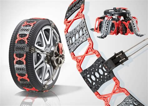 best snow chain with a cold grip snow chains made entirely from plastic