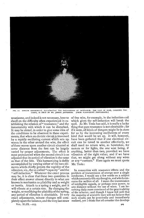 Writings Of Nikola Tesla Nikola Tesla Writings