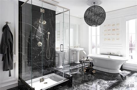 hollywood bathrooms kohler hollywood glam inspired bathroom contemporary