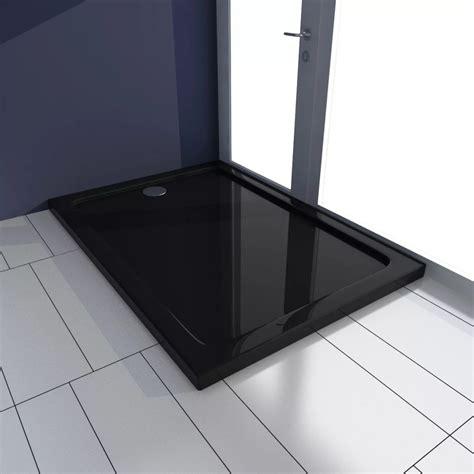 piatto doccia 70 x 100 piatto doccia rettangolare in abs nero 70 x 100 cm vidaxl it