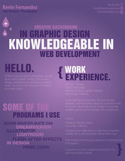 Interesting Resume Designs by 27 More Outstanding Resume Designs Part Ii Dzineblog