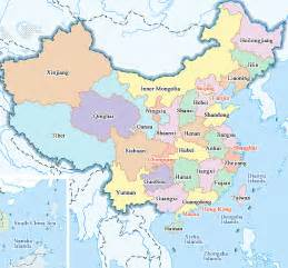 China Province Map by Map Of China Maps Of City And Province Travelchinaguide Com