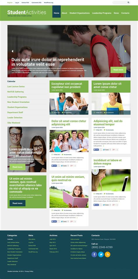 bootstrap templates for university education bootstrap templates free premium themes