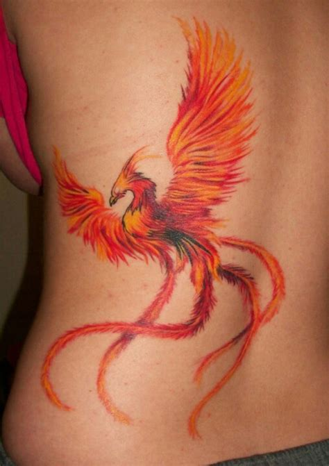Tattoo Meaning In Different Cultures | phoenix is a mystical bird that has different meanings in