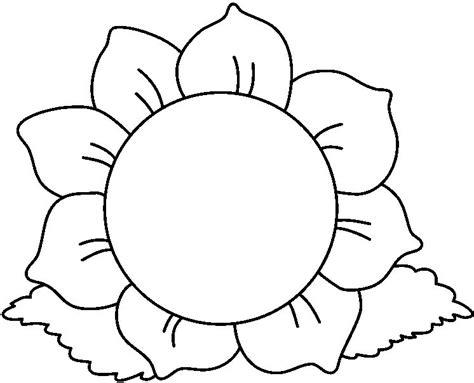 imagenes de flores faciles para colorear la primavera con flores para colorear escuela en la nube