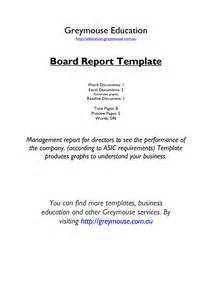 report to board of directors template best photos of ceo monthly report template executive