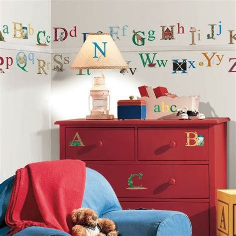 room wall decal alphabet removable vinyl wall decals room decor 73 big stickers abc letters ebay