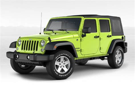 Jeep Color Options Available Jeep Wrangler Colors Autos Post