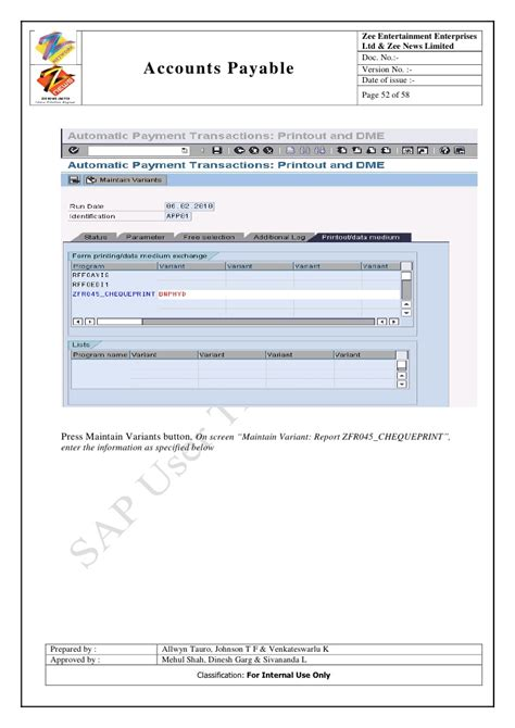 sap user tutorial sap ap user training tutorial