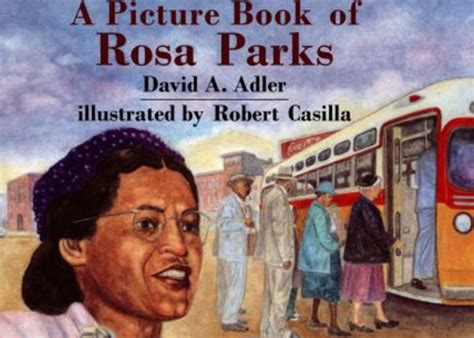 rosa parks picture book teach peace now activities lessons book reviews