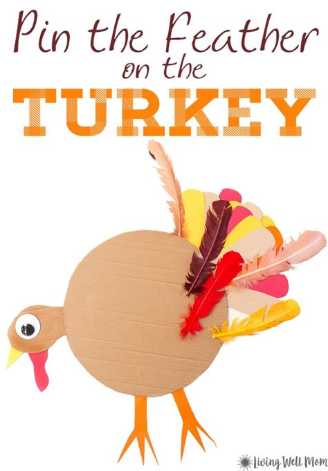 printable version of pin the tail on the donkey pin the tail on the turkey