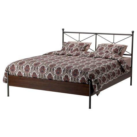 ikea king bed frame musken bedframe 140x200 cm ikea interior