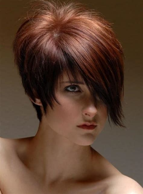 i like this cut with short bangs and longer lawyers right 32 latest popular short haircuts for women styles weekly