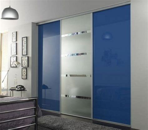 modern door mirrors and doors on pinterest check blue glass and mirror sliding door wardrobe black high gloss modern door black and
