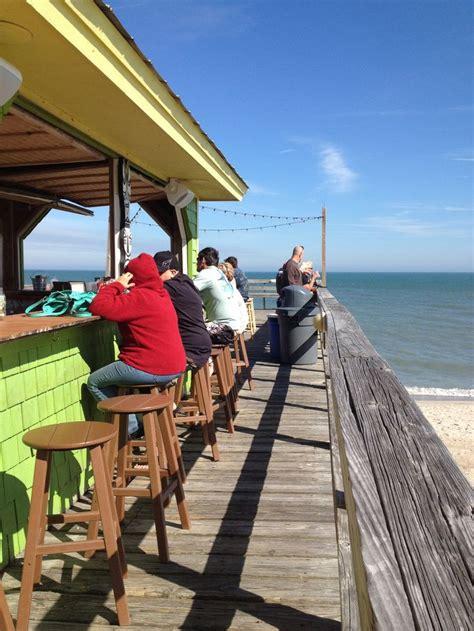 Tiki Bar Nc Carolina Nc Pier Tiki Bar Carolina