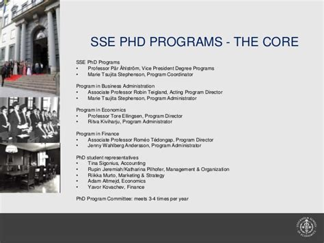 Business Doctoral Programs 2 by Sse Phd Programs And School Overview