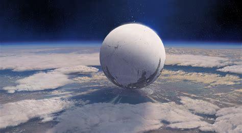 wallpaper destiny game mmofps sci fi space sphere