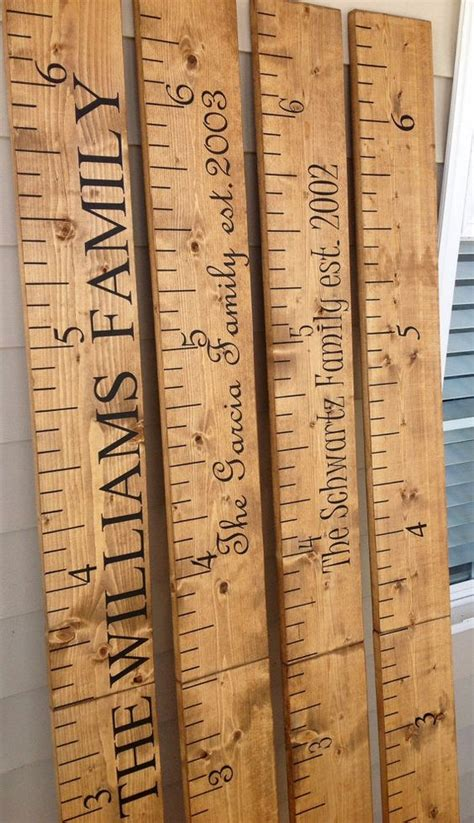 Handmade Growth Chart - the world s catalog of ideas