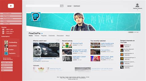 youtube channel layout 2014 my youtube design concept channel by tardisplus on