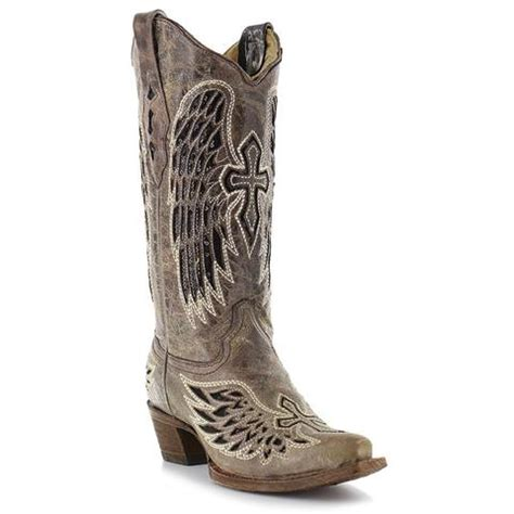 Corral Ladies Multicolor Crystal and Fringe Cowgirl Boot