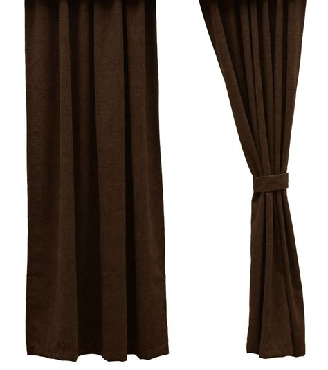 Brown Corduroy Curtains Heavenly Espresso Brown Corduroy Drapery Set 84