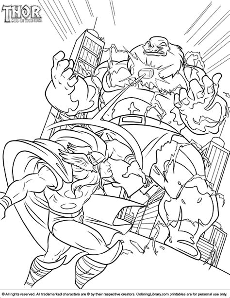 thor coloring pages pdf thor coloring pages in the coloring library coloring home