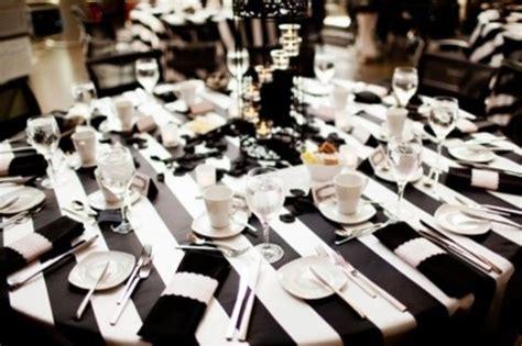 black and white table setting 58 elegant black and white wedding table settings