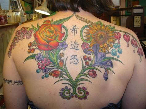 random tattoos flower tattoos designs and ideas for