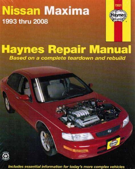 manual repair autos 2003 nissan maxima head up display nissan maxima a32 a33 1993 2008 haynes owners service repair manual 162092076x