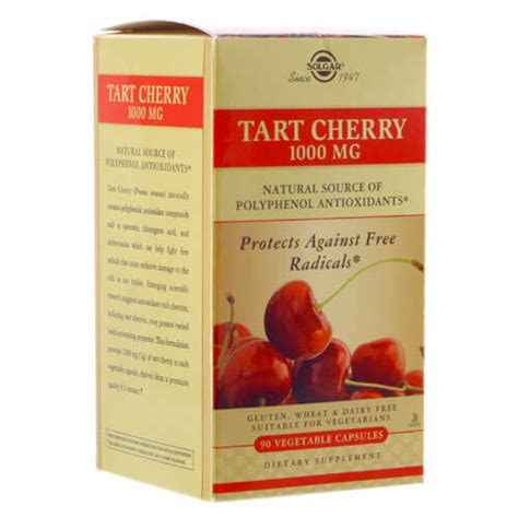 Tart Cherry Juice Liver Detox by Tart Cherry 1 000 Mg Solgar