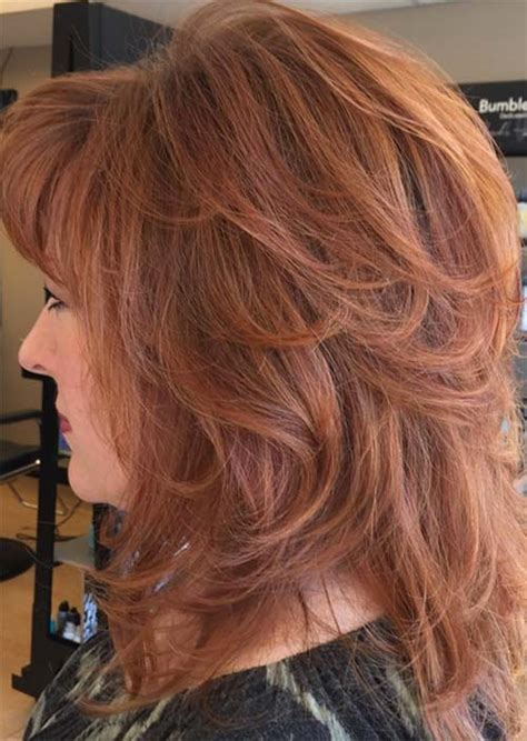 red hair for over 50 hair color after 50 best hair color 2017