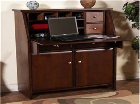 secretary armoire secretary desk for desktop computer drop leaf laptop desk