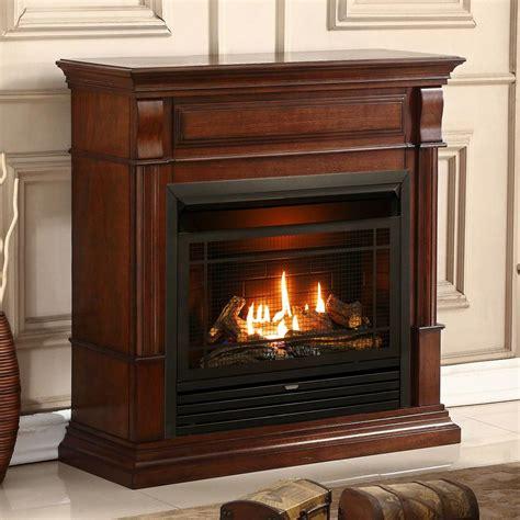 gas fireplace btu duluth forge dual fuel ventless gas fireplace 26 000 btu remote auburn cherry finish