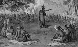 The cherokee had council meetings