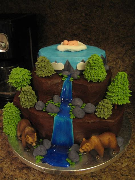 Wilderness Baby S Er Cake Oh Baby Lets Have A  Ee  Party Ee