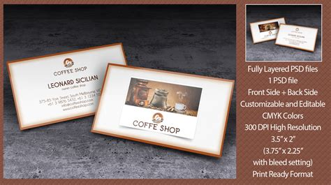 business card graphics books coffee coffee shop business card logos graphics