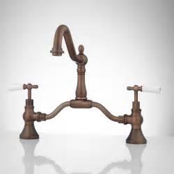 antique bridge faucet signaturehardware com antique bridge faucet signaturehardware com