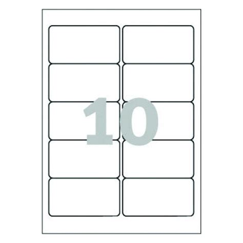 avery 10 labels per sheet template word template for avery l4785 avery