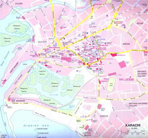 where is karachi on the world map map of karachi roads browse info on map of karachi roads