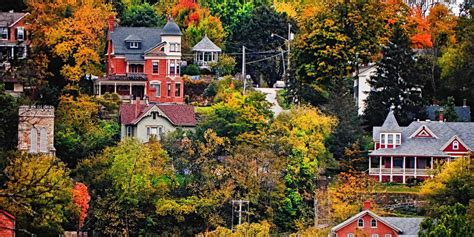 best towns in america the 50 most beautiful small towns in america
