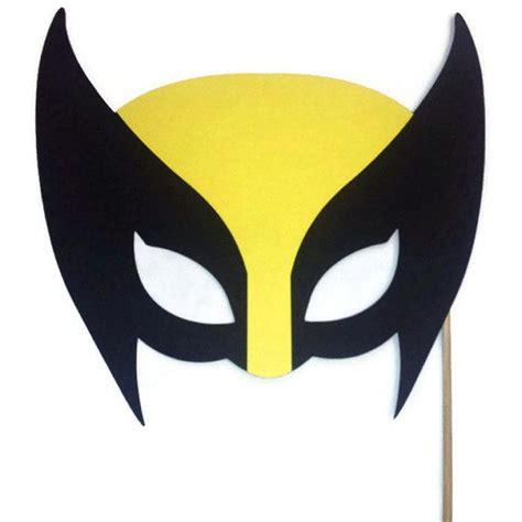Printable Wolverine Mask | photo booth props wolverine mask x men mask super