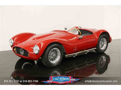 maserati a6gcs spyder 1954 maserati a6gcs spyder recreation for sale