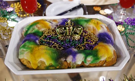 s king cake the king cake tradition explained eater