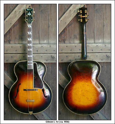 Vintage L by Vintage Gibson Guitars Gibson L 12