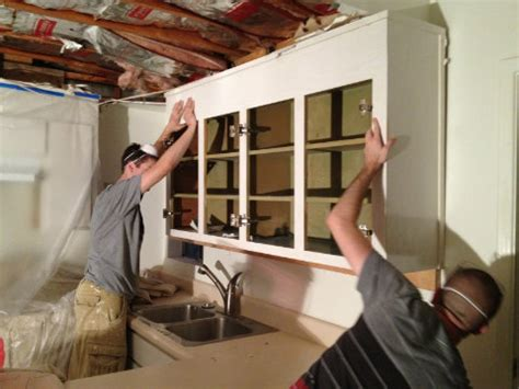 Remove Kitchen Cabinets by Demolition Of The Kitchen Soffit Interior Candy